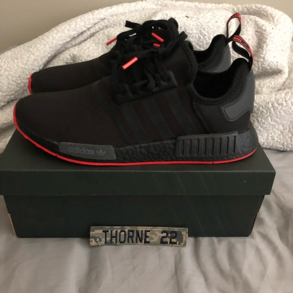 Free Delivery Adidas Nmd R1 All Black Off63